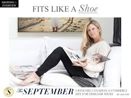 "CANADIAN E-COMMERCE WEBSITE ""THE SEPTEMBER"" MAKES SHOE SHOPPING A BREEZE 